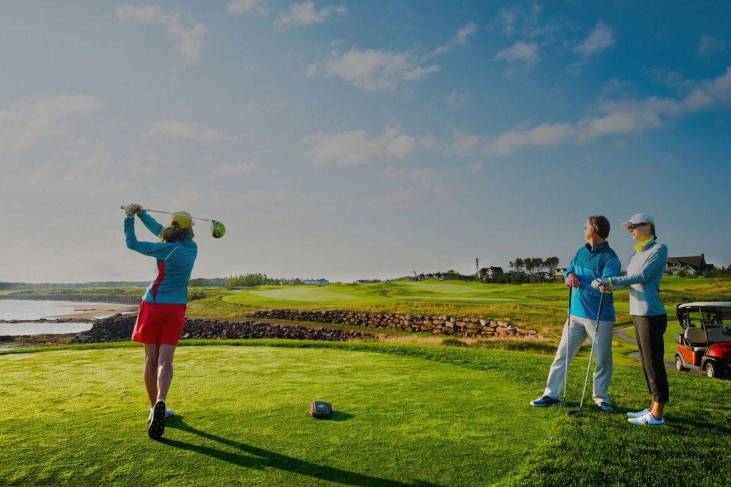 Fox Harb'r Resort golfers North Shore Open golf tournament
