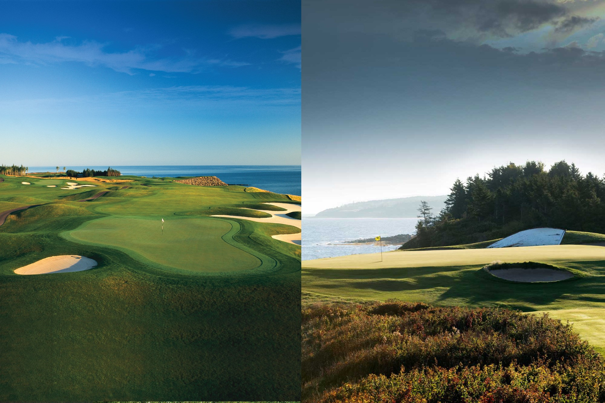 Both Golf Shores are played during the North Shore Open. Fox harb'r Resort and Northumberland Links