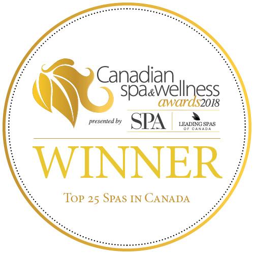 Canada Spa & Wellness Top 25 Spa Winner