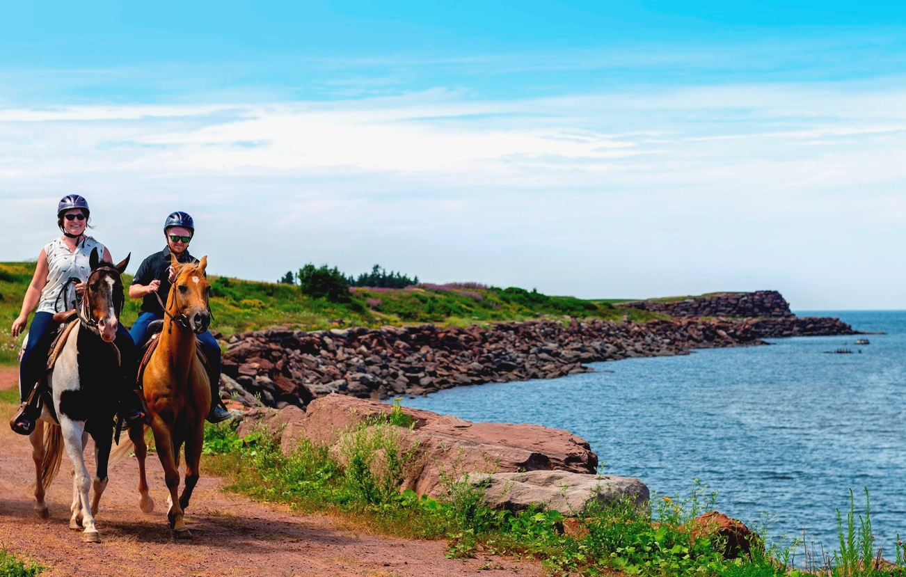 Trail Rides at Fox Harb'r Resort