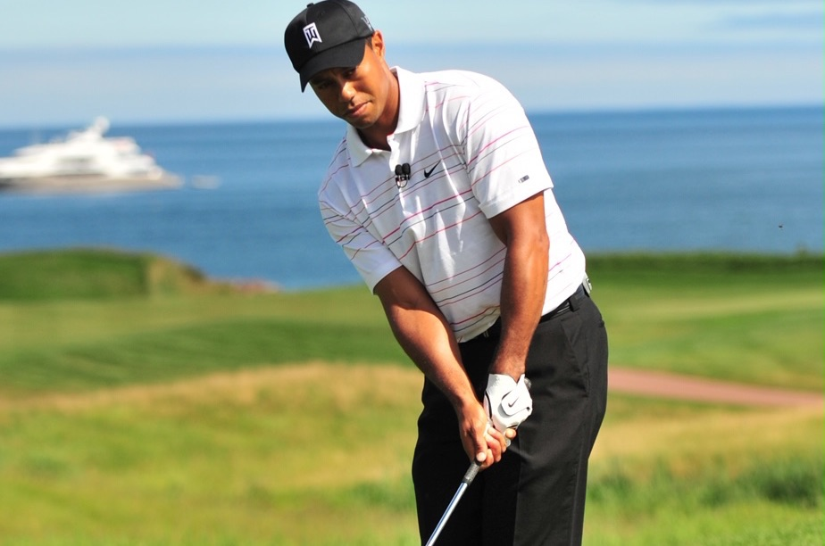 On June 26, the sky was sunny and the thermometer hit 32 °C. There was no wind that day and the Northumberland Strait was like glass. That was the day Tiger Woods visited us and shot a 63, setting the course record.