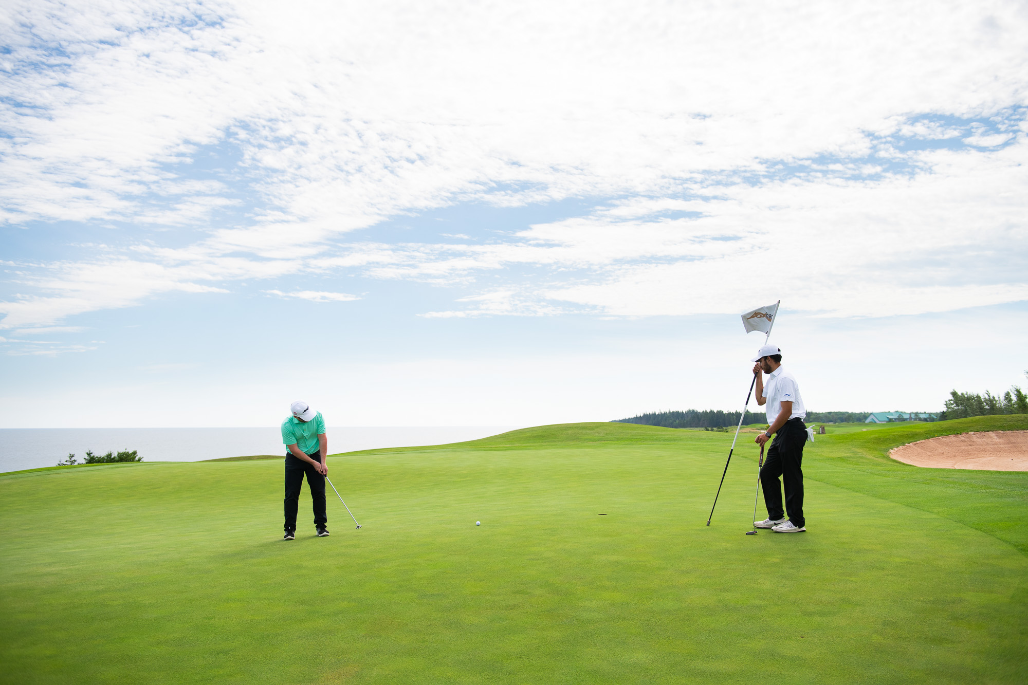 Fox Harb'r seaside course makes for diverse and spectacular beauty, but it also means some of the most challenging golf you will ever get to play.