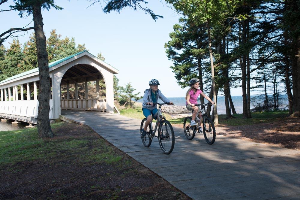Biking at Fox Harb'r Resort