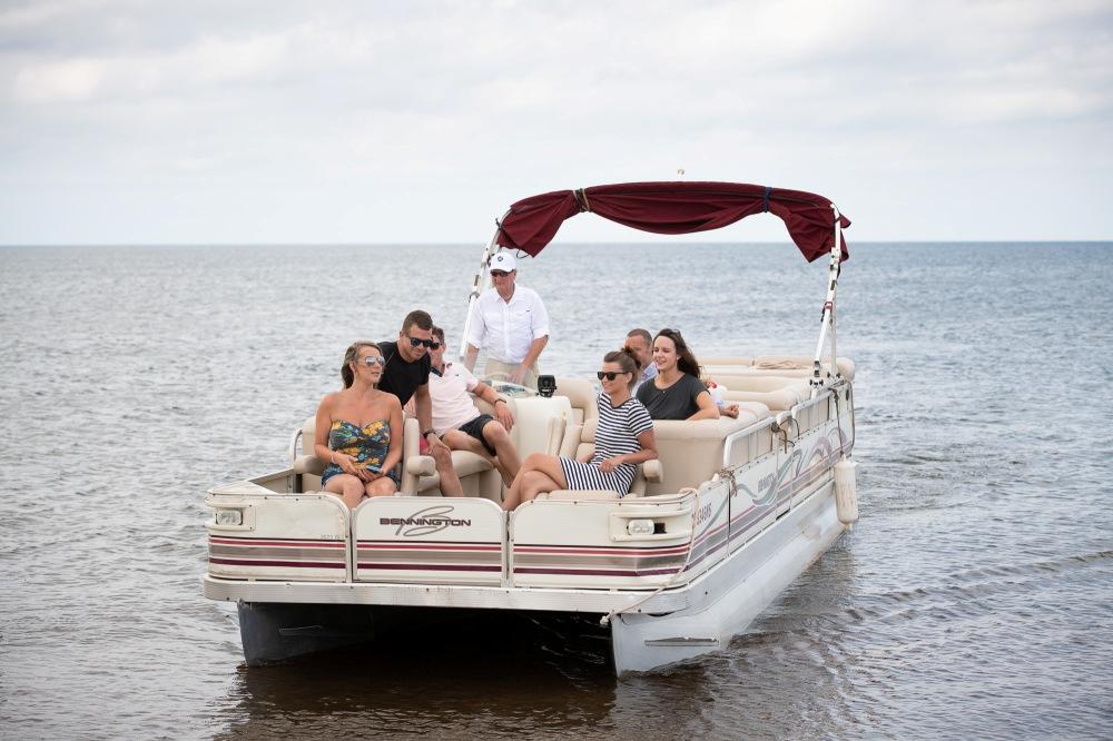 Pontoon Cruise at Fox Harb'r