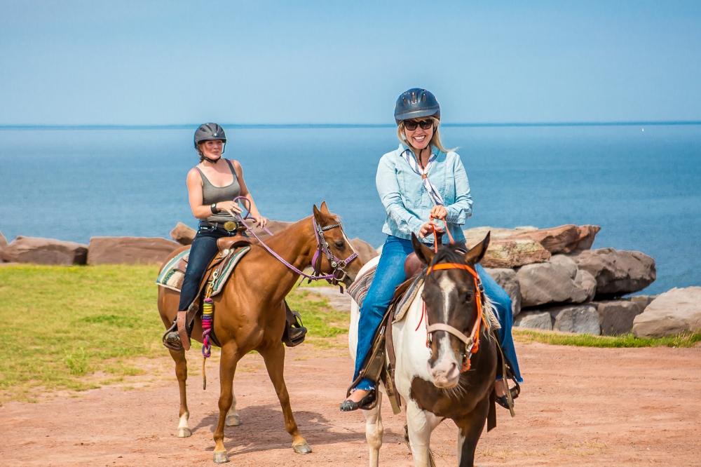 Trail Riding at Fox Harb'r